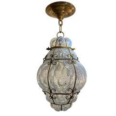 Opaline Glass Lantern