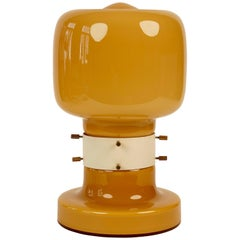 Opaline Glass Table Lamp from 1970s