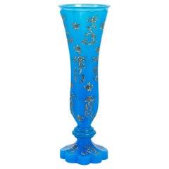 Opaline Vase, France, 19th Century, Napoleon III Period