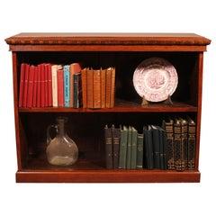 Open Bookcase in Walnut, 19th Century, England