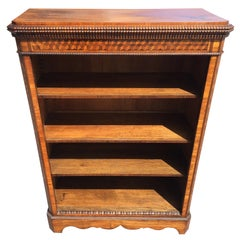 Bookcase with Marquetry, circa 1870