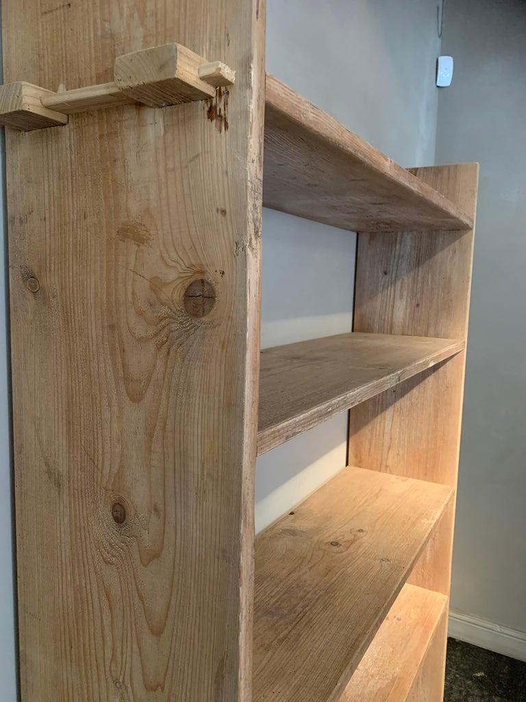 Open Rack Shelve Unit Reclaimed Wood In Good Condition For Sale In Vosselaar, BE