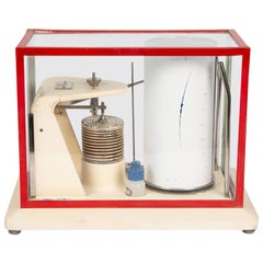 Open Scale Barograph by C F Casella & Co of London