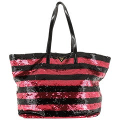 Open Tote Sequins Large