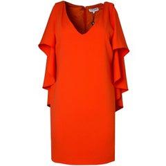 Opening Ceremony Orange Cape Dress Sz 4 NWT