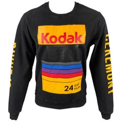 OPENING CEREMONY Size M Black Kodak Film Cotton Sweatshirt