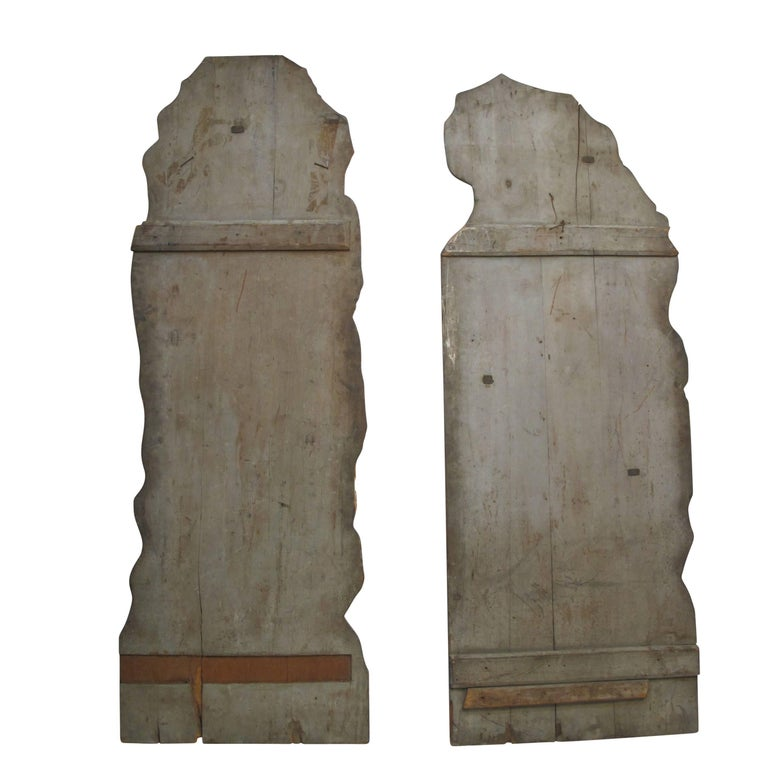 Opera or Theatre Hand-Painted on Wood Dummy Boards, 19th Century For Sale 3