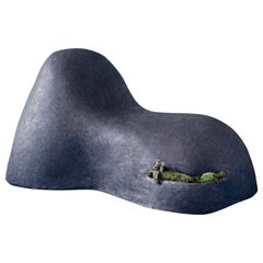 Soy Una Roca, Sculptural Concrete Seat by OPIARY