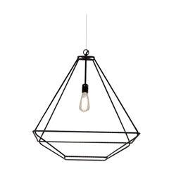 Opinion Ciatti Con.tradition Medium Suspension Ceiling Lantern in Black
