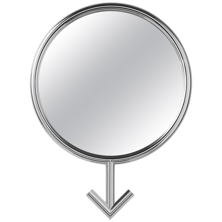 For Sale: Silver (Chrome) Opinion Ciatti Freedom Male Small Mirror