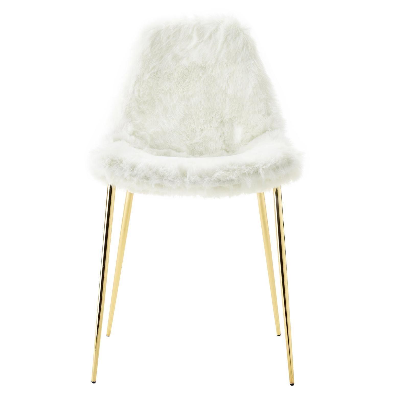 Opinion Ciatti Mammamia Fur Non Stackable Chair