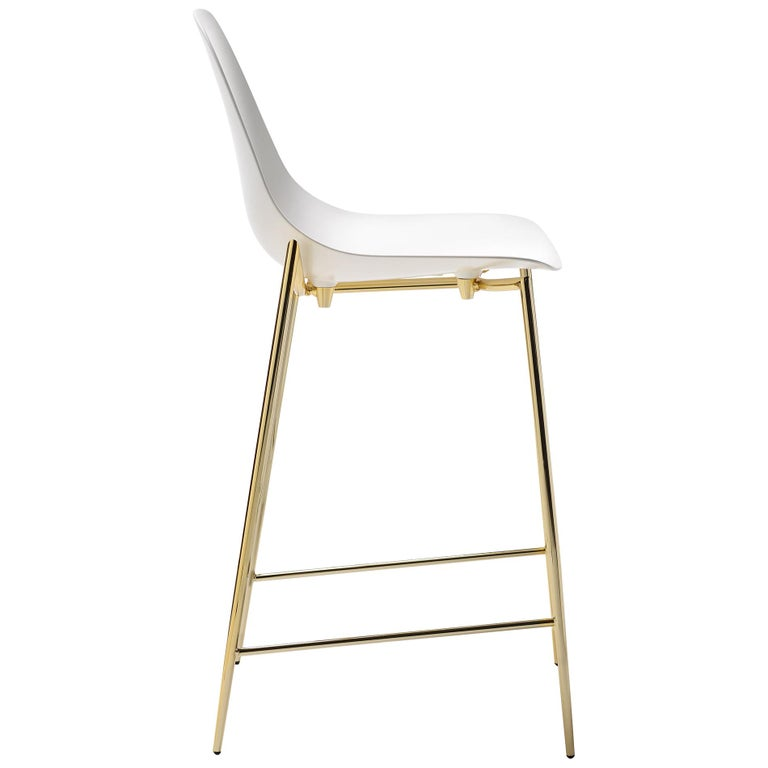 For Sale: White (White with Gold Structure) Opinion Ciatti Mammamia High Chair