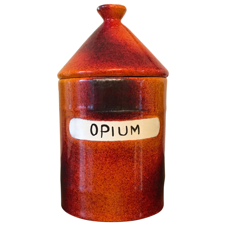 Opium Dope/ Vice Jar by Alvino Bagni for Raymor