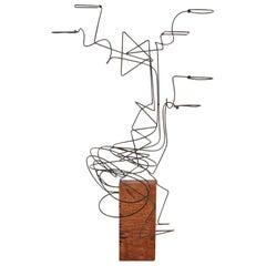 """""""Opposés,"""" Unique Sculpture by William Lemariey"""