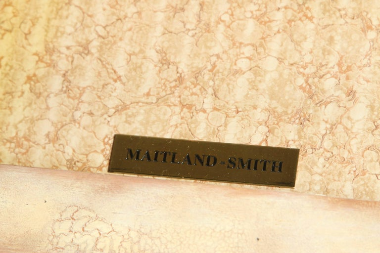Opulent Classic Style Desk by Maitland Smith For Sale 1