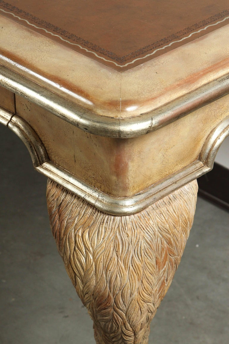 Opulent Classic Style Desk by Maitland Smith For Sale 3