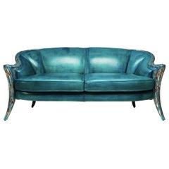 Opus Futura 2-Seat Sirena Sofa by Carlo Rampazzi
