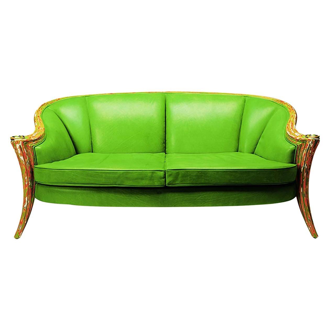 Opus Futura 2-Seat Sofa by Carlo Rampazzi
