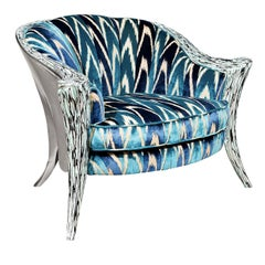Opus Futura Silver Armchair