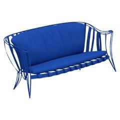 Opus Garden Blue Sofa by Carlo Rampazzi