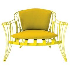 Opus Garden Yellow Armchair by Carlo Rampazzi