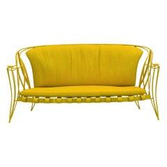 Opus Garden Yellow Sofa by Carlo Rampazzi