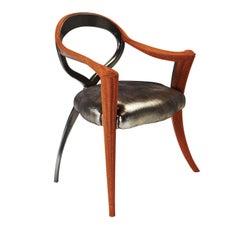Opus Metallica Red Caviar Chair