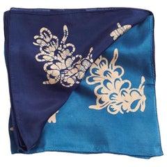 ORAA Indigo Silk  Scarf