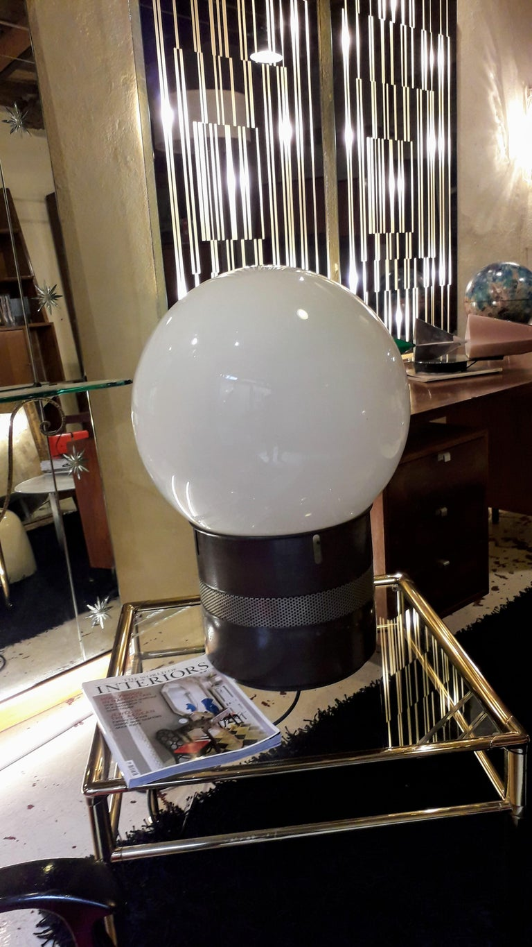 Painted Oracolo Lamp by Gae Aulenti from Artemide, Italy, 1968 For Sale