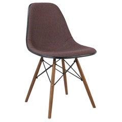 Orange and Blue Herman Miller Original Vintage Eames DSW Side Shell Chair