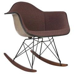Orange Blue Herman Miller Original Vintage Greige Eames RAR Rocking Chair
