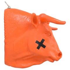 Orange Bullsit by Hans Weyers, 2019