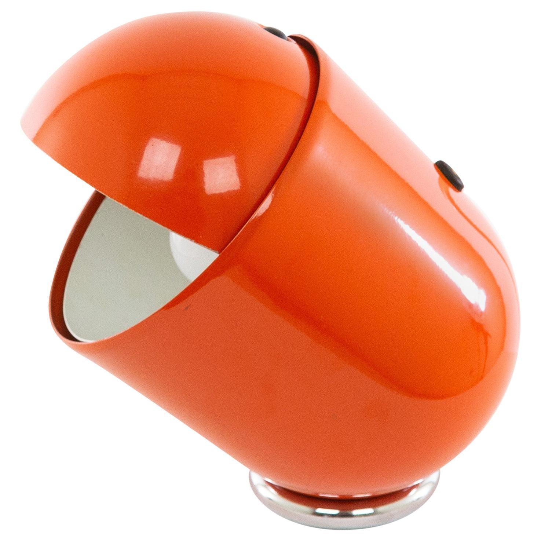 Orange Elmo Table Lamp by Str Imago DP, 1971