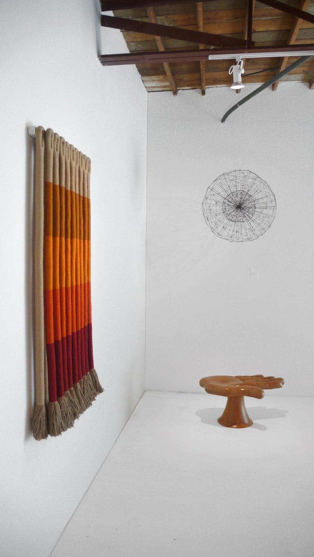 American 'Orange Gradient' by Fiber Artist Jane Knight For Sale