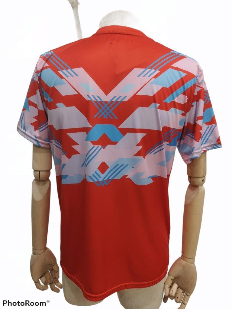 Orange multicoloured T-shirt In New Condition For Sale In Capri, IT