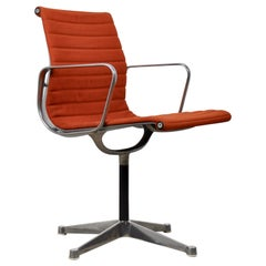 Orange Office Armchair by Charles & Ray Eames for Herman Miller, 1960s