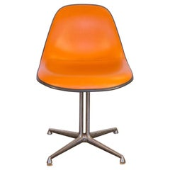 Orange Padded La Fonda Eames Chair for Herman Miller