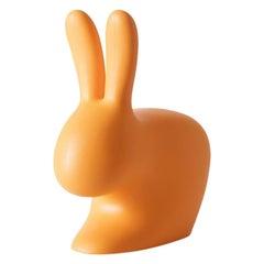 Orange Rabbit Door Stopper / Bookends, Made in Italy