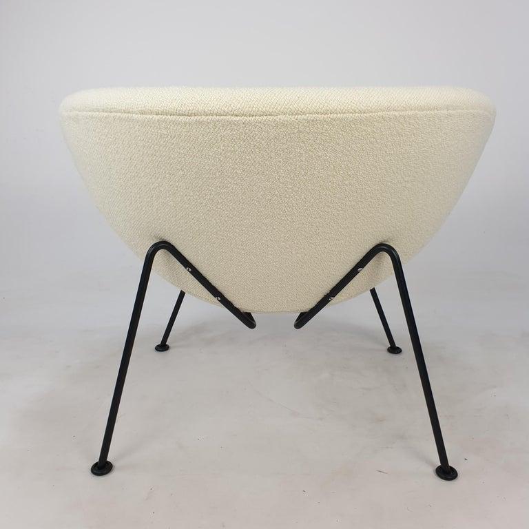 Metal Orange Slice Chair by Pierre Paulin for Artifort, 1980s For Sale
