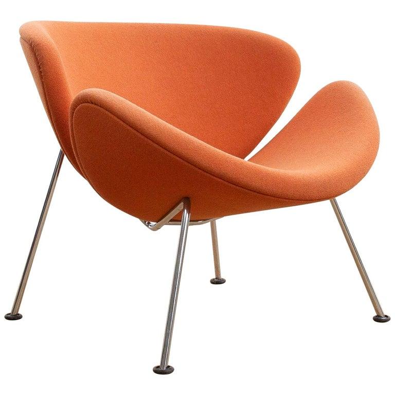 Artifort Orange Slice Fauteuil.Orange Slice Chair By Pierre Paulin For Artifort At 1stdibs