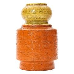 Orange/Yellow Vase by Bitossi for Raymor