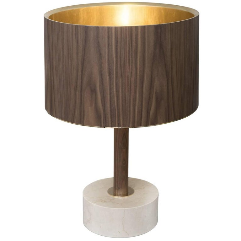 Orangeshade Table Lamp For Sale