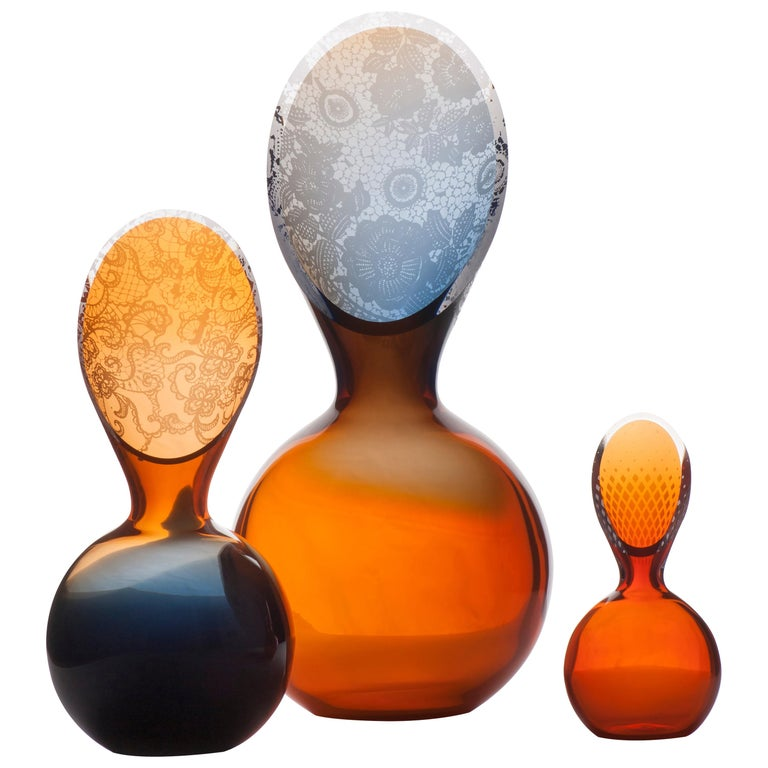 Oranjevaas by Royal Leerdam Crystal AP For Sale