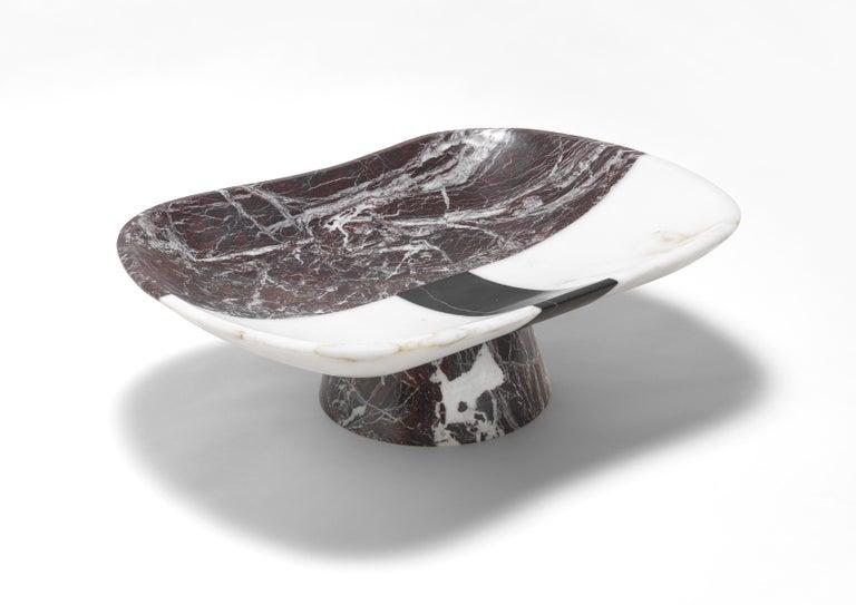 Italian Orazio Marble Centerpiece by Matteo Cibic For Sale