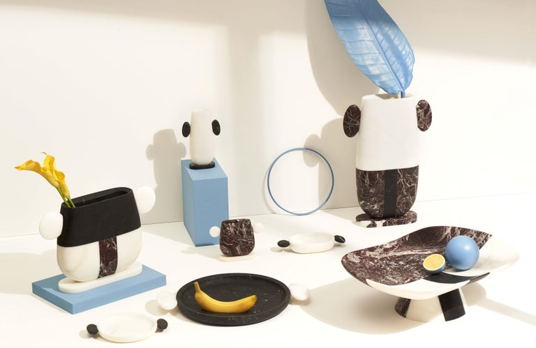 Orazio Marble Centerpiece by Matteo Cibic For Sale 1