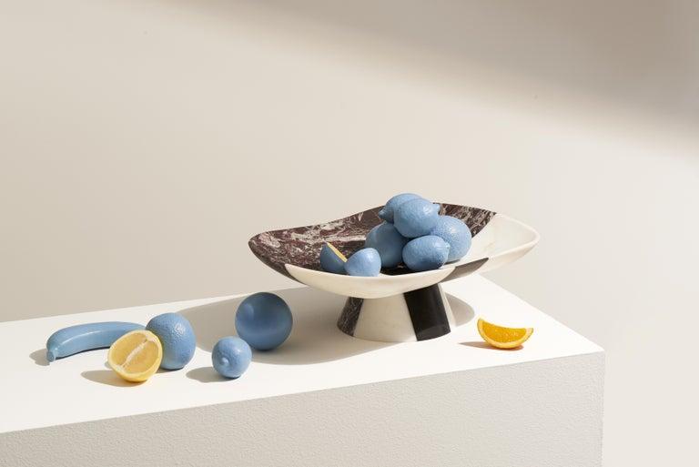 Orazio Marble Centerpiece by Matteo Cibic For Sale 2