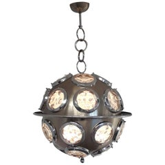 Orb Chandelier by Torlasco