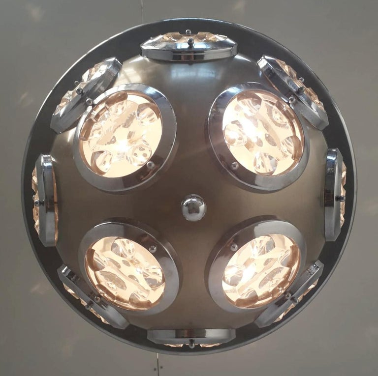 Orb Pendant by Torlasco In Good Condition For Sale In Palm Springs, CA