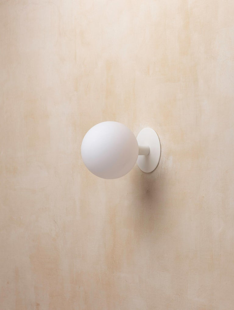 Orb Sconce In New Condition For Sale In Glen Cove, NY