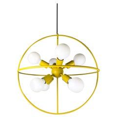 Orb / Set of 8 Chandelier by Alalda Design